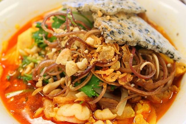 Quang style pork noodle